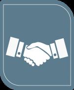 Icone vente et conseil en matériel informatique